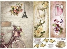 Papier do Decoupage firmy ITD 60g nr 473