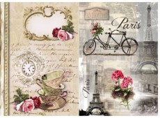 Papier do Decoupage firmy ITD 60g nr 470