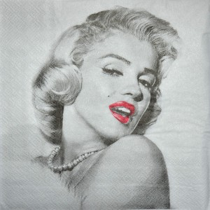 Serwetka do decoupage MARYLIN MONROE