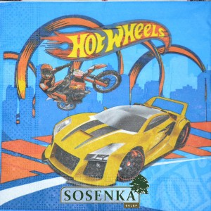 Serwetka do DECOUPAGE HOT WHEELS