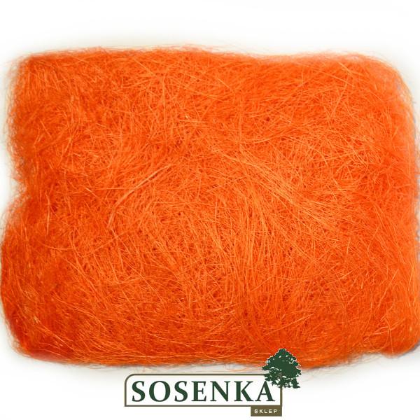 Sizal Sianko Dekoracyjne Barwione Nr 4 Mocny Pomarańcz
