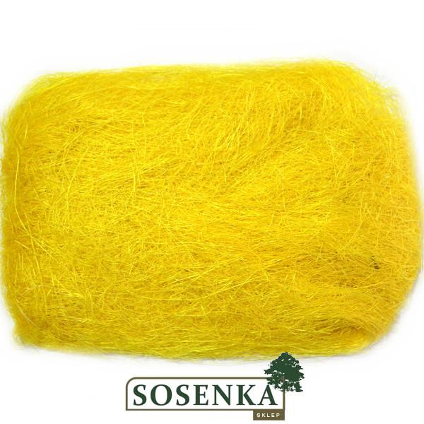 Sizal Sianko Dekoracyjne Barwione Nr 3 Jasny żółty